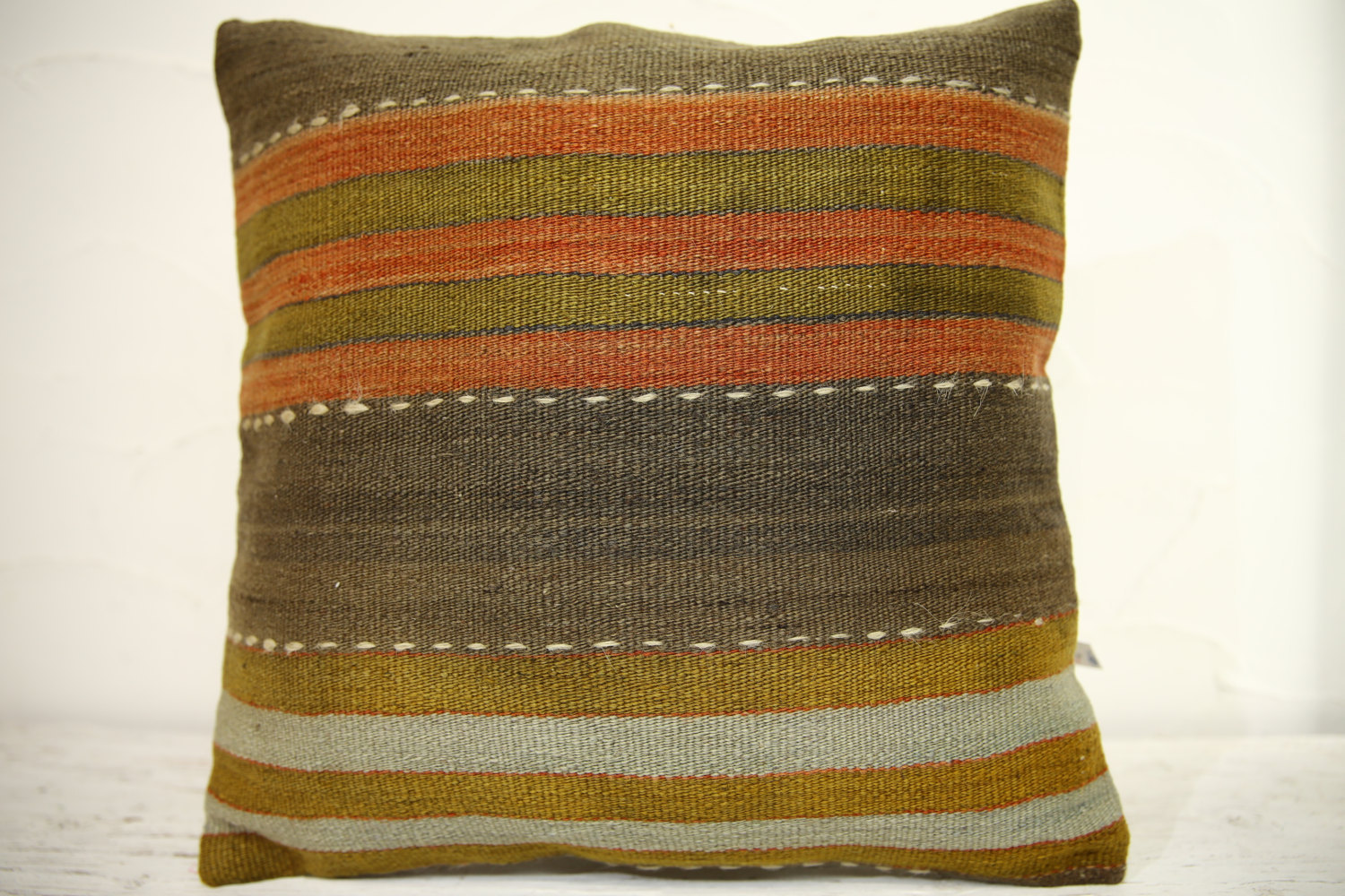 Kilim Pillows | 16x16 | Turkish pillows | 1351 | Accent Pillow,Decorative Pillow
