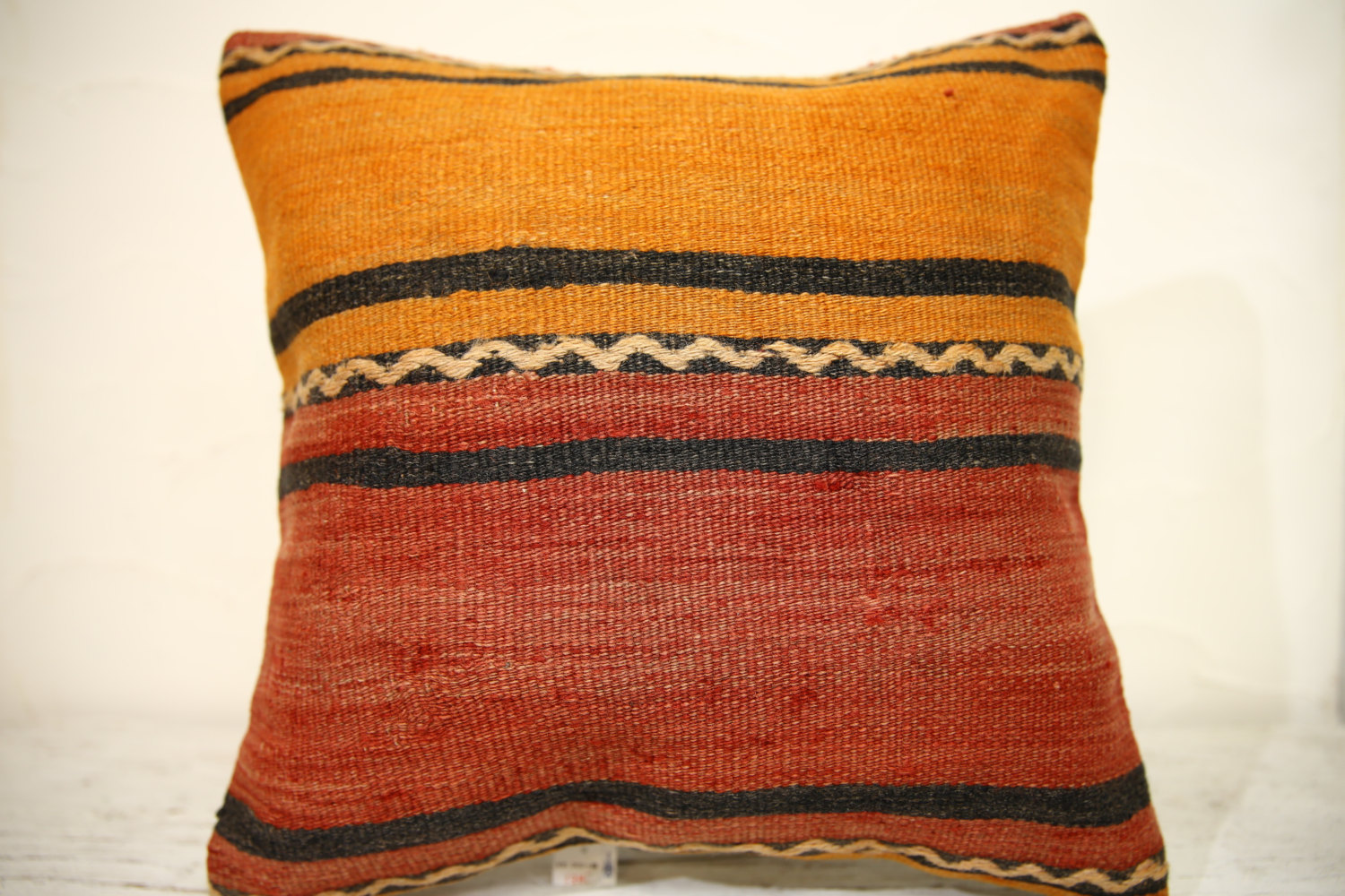Kilim Pillows | 16x16 | Turkish pillows | 1348 | Accent Pillow,Decorative Pillow