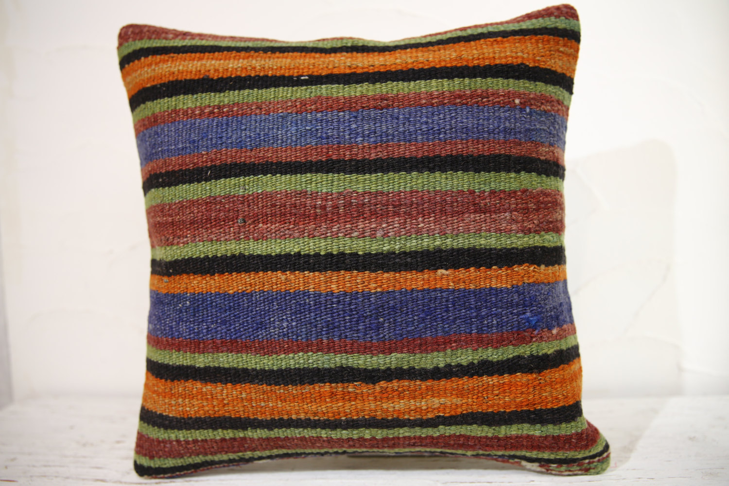 Kilim Pillows | 16x16 | Turkish pillows | 1152 | Ethnic Pillow , Kelim cushion