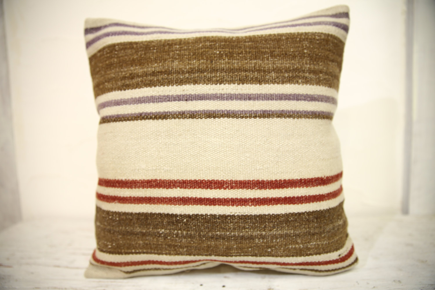 Kilim Pillows | 16x16 | Turkish pillows | 1343 | Accent Pillow,Decorative pillow