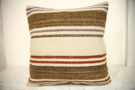 Kilim Pillows | 16x16 | Turkish pillows | 1343 | Accent Pillow,Decorativ... - $35.00