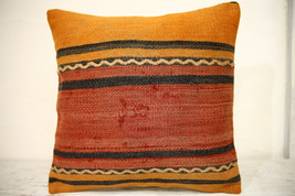 Kilim Pillows | 16x16 | Turkish pillows | 1340 | Accent Pillow,Decorativ... - $35.00