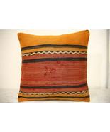 Kilim Pillows | 16x16 | Turkish pillows | 1340 | Accent Pillow,Decorativ... - $35.00