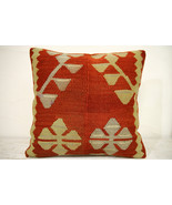 Kilim Pillows | 16x16 | Turkish pillows | 1300 | Accent Pillows , Decora... - $42.00