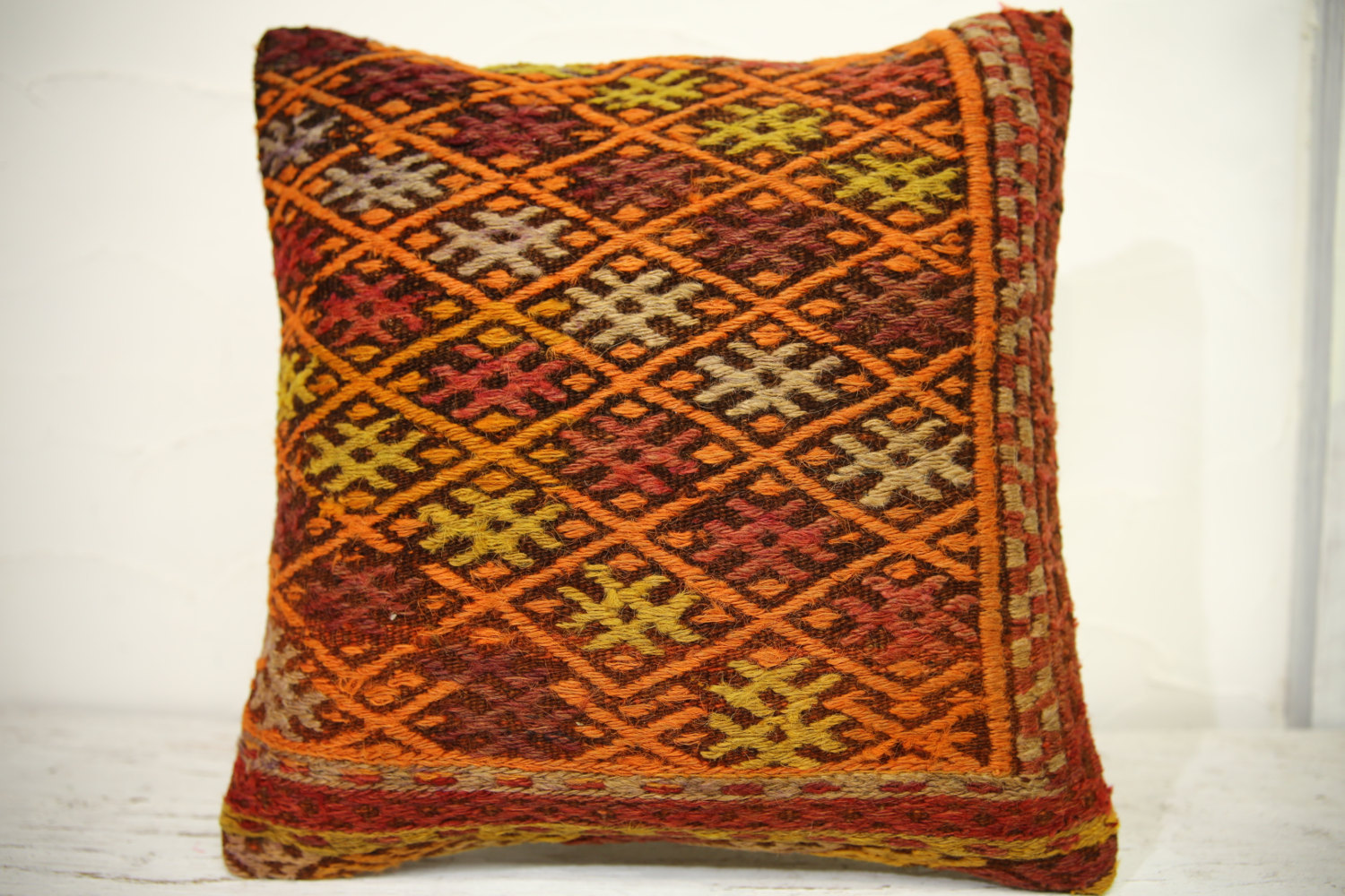 Kilim Pillows | 16x16 | Turkish pillows | 1294 | Accent Pillows , kilim decor