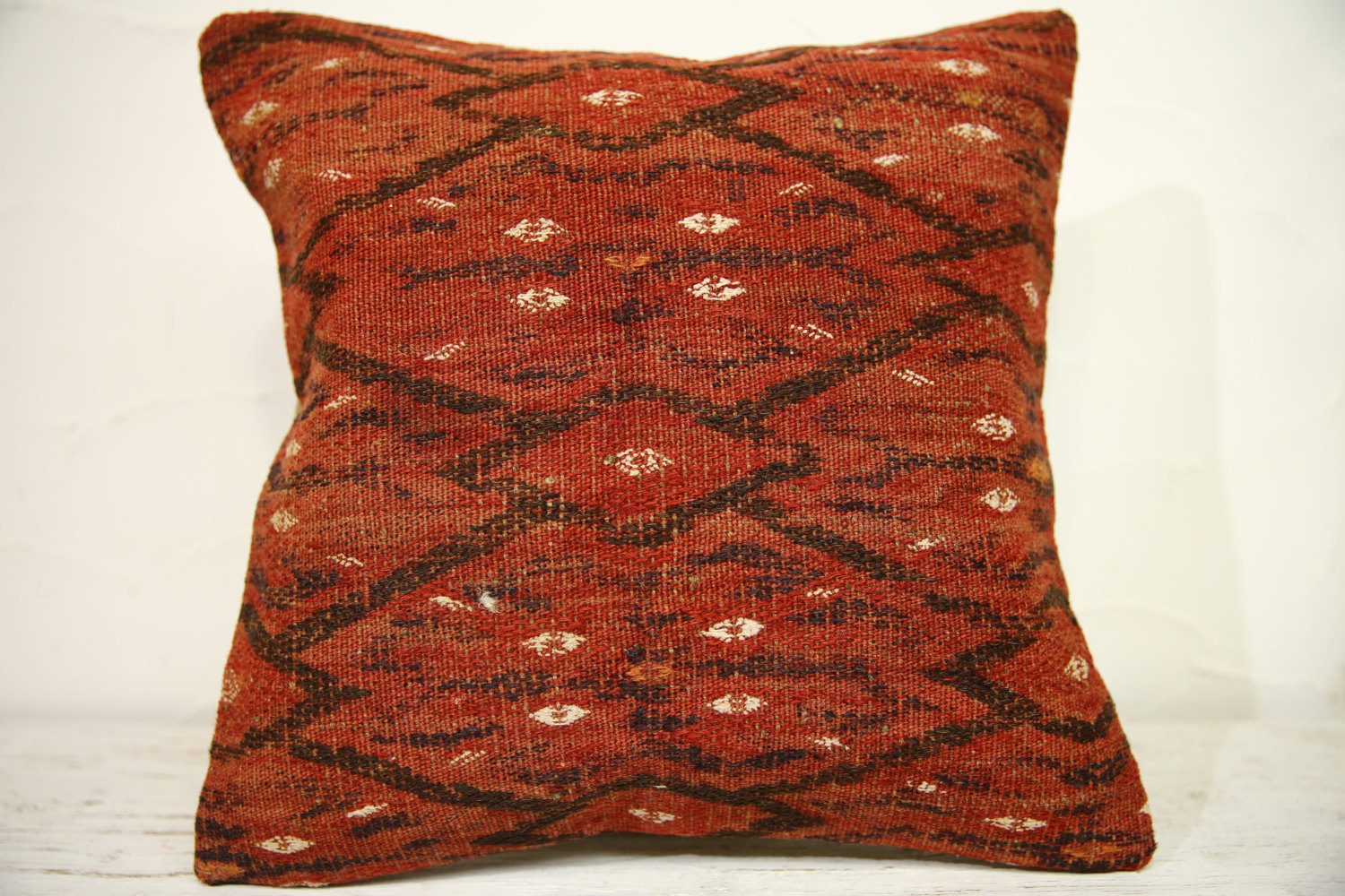 Kilim Pillows | 16x16 | Turkish pillows | 1257 | Accent Pillows , Kelim cushions