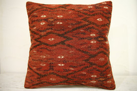 Kilim Pillows | 16x16 | Turkish pillows | 1256 | Accent Pillows ,kilim c... - $42.00