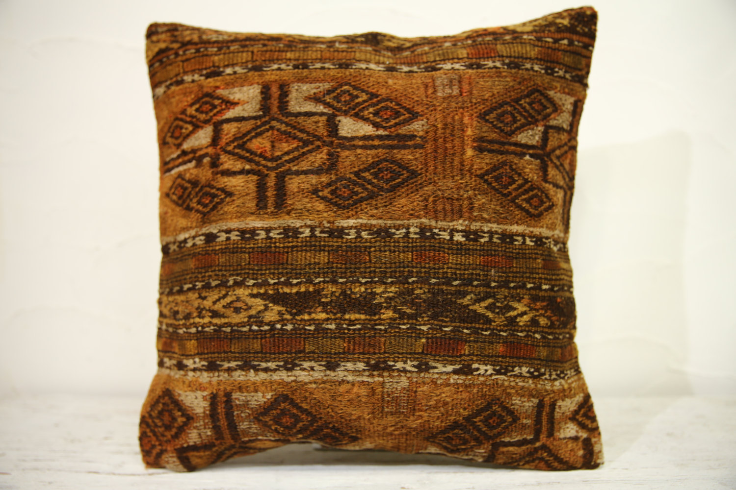Kilim Pillows | 16x16 | Turkish pillows | 1253 | Accent Pillows ,kelim pillow