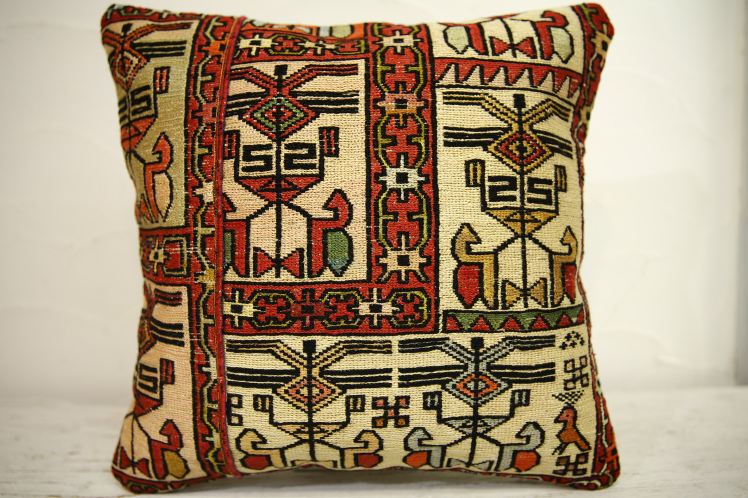 Kilim Pillows | 16x16 | Turkish pillows | 1210 | Accent Pillows , Decorative