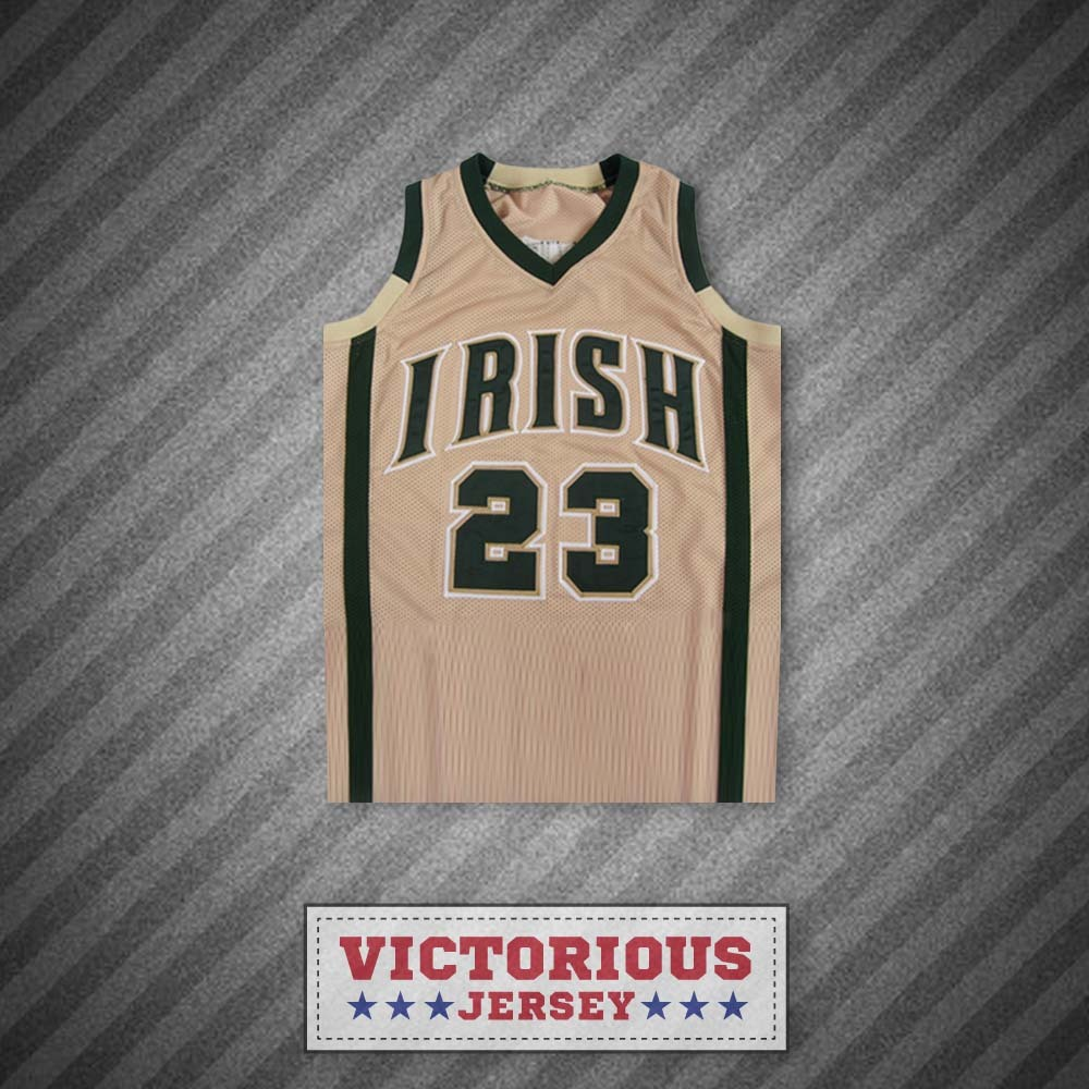 Lebron james fighting irish high school tan basketball for Irish jewelry stores in nj
