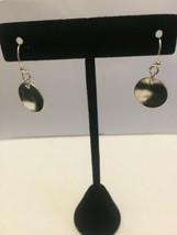 Silver tone drop earrings - $4.99