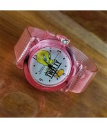 New Vintage Womens 1998 Pink Jelly ARMITRON Warner Brothers Tweety Bird ... - $39.95