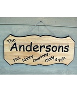 Custom Personalized Wood Sign Home Camping RV F... - $65.00