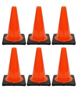 "JBC Safety Plastic Revolution Series Traffic Cone 6 PCS Set, 18"" HT, RS4... - $84.14"
