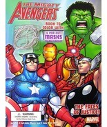 Bendon Publishing The Faces of Justice, The Mighty Avengers Coloring Boo... - $4.89