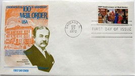 September 27, 1972 First Day of Issue Fleetwood Cover Mail Order Anniversary #18 - $0.99