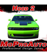 "2015 Dodge Challenger ""OE Style"" HOOD Graphic Decals Stripes 3M Pro Viny... - $148.99"