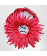 Monthly Milestone Marker Headband with Large Flower  (Month Marker) - $25.00