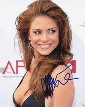 Maria Menounos In-person AUTHENTIC Autographed Photo COA SHA #14681 - $60.00