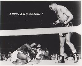 Joe Louis Jersey Joe Walcott Vintage 8X10 Boxing Memorabilia Photo - $6.99