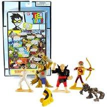 Bandai Year 2005 DC Comics Teen Titans Go! Series 1 Page 3 Mini 4 Pack 1... - $54.99