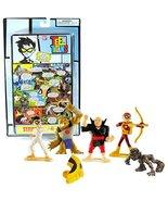 TEEN TITANS Bandai Year 2005 DC Comics Go! Series 1 Page 3 Mini 4 Pack 1... - $54.99