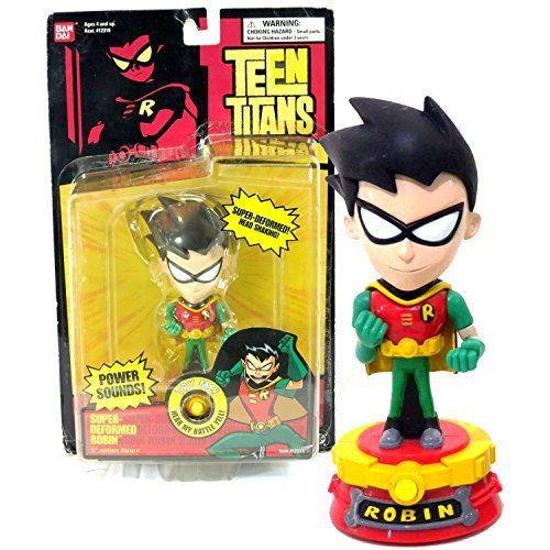 Teen Titans Bandai Year 2003 DC Comics Go! Series 5 Inch Tall Electronic Action