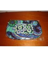 Vera Bradley Blue Rhapsody Clip Zip ID Case - $20.99
