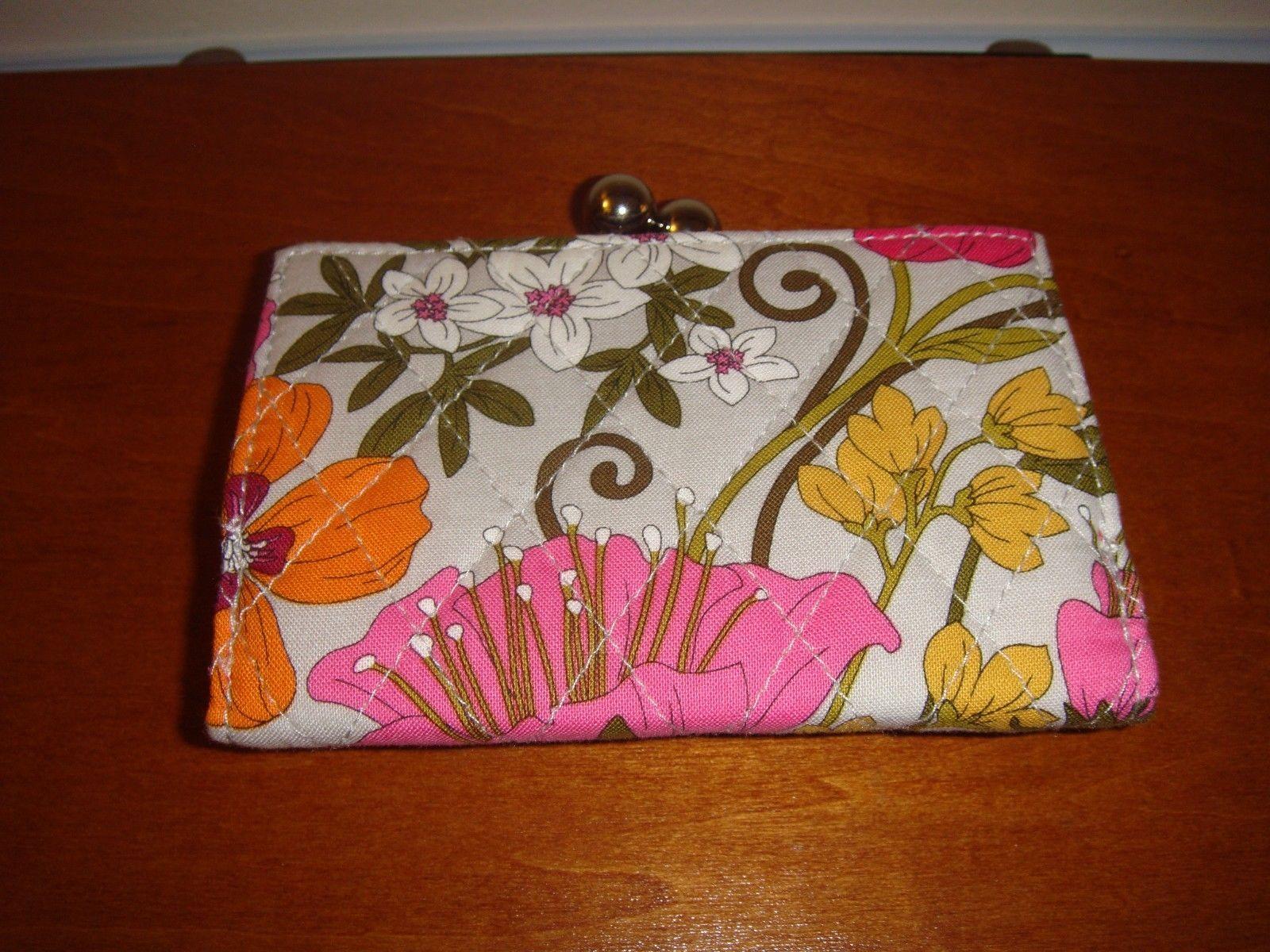 Vera Bradley Tea Garden Small Kisslock Wallet image 2