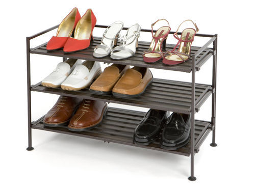 New Shoe Storage Rack Organizer Cabinet Shelf Closet Home Space Shoe Rack Stand