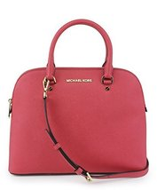MICHAEL Michael Kors Cindy Large Dome Satchel WATERMELON [Accessory] - $286.11