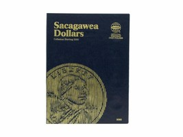Sacagawea Dollar # 1, Starting 2000 Coin Folder by Whitman - $5.99