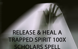 100X 7 SCHOLARS RELEASE & HEAL A TRAPPED SPIRIT WORK MAGICK RING PENDANT - $99.77