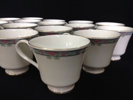 Set of 16 Royal Doulton 'Lesley'  H 5179 English Fine Bone China Coffee/... - $49.99