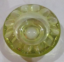 Vintage Blenko Citrine Color Depression Pressed Solid Glass Collectible ... - $125.99