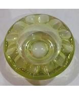Vintage Blenko Citrine Color Depression Pressed Solid Glass Collectible ... - $125.99