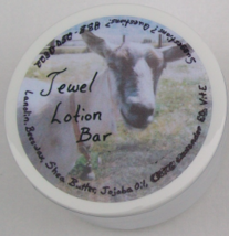 Jewel Lotion Bar unscented natural moisturizing bar for hands heels elbows knees - $5.25+
