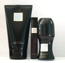 AVON  Little Black Dress, Chic in Black Set, Purse spray deo roll on bod... - $14.84