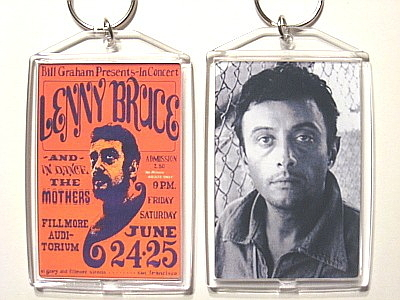Lenny bruce key chain post this one only