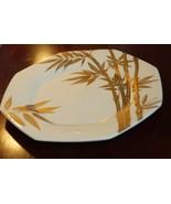 """Mikasa Bone China Katsura Bamboo 8.5"""" Salad Plates Gold A7203 NO UTENSIL... - $19.99"""