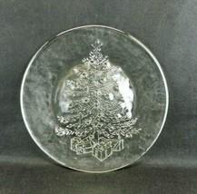 "Vintage Pilgrim Glass 13"" Party Platter Christmas Tree #486 Serving Plat... - $21.77"