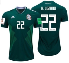 NWT MÉXICO WORLD CUP HIRVING LOZANO FAN HOME JERSEY  - $54.99