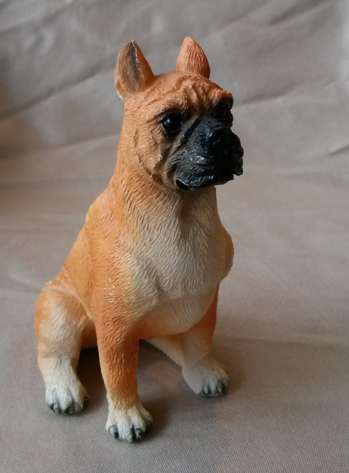 "BOXER DOG FIGURINE Collectible Statue Sculpture Puppy 5"" Resin NEW"
