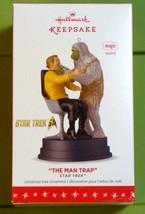 2016 Hallmark Star Trek Christmas Ornament The Man Trap Capt Kirk Salt V... - $19.75