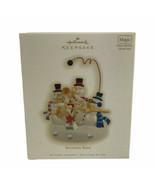 Hallmark Ornament Snowman Band 2009 Magic Light and Sounds Christmas Hol... - $18.55