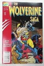 Wolverine Saga Animal Unleashed Book 2 Trade 1989 Paperback Graphic Nove... - $4.74