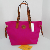 DOONEY & BOURKE NYLON SHOPPER TOTE FUCHSIA PINK