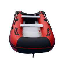 BRIS 10ft Inflatable Boat Inflatable Dinghy Yacht Tender Fishing Pontoon Boats image 3