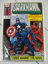 DARKHAWK  #6   ( 1991, Marvel) Bagged and Boarded - C2434 - $1.49