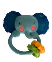 Fisher-Price Kids Baby Elephant Teether Rattle Toy - $5.94